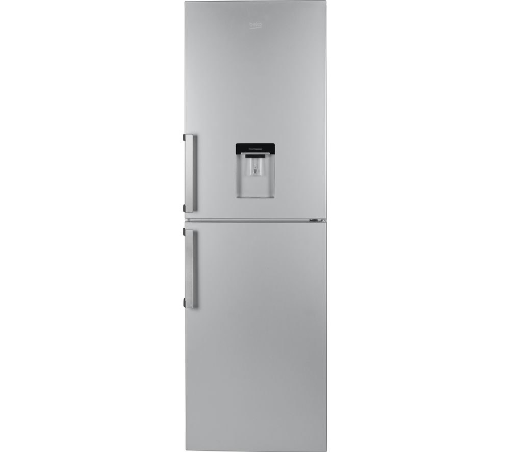 BEKO CFP1691DS 50/50 Fridge Freezer - Matte Silver