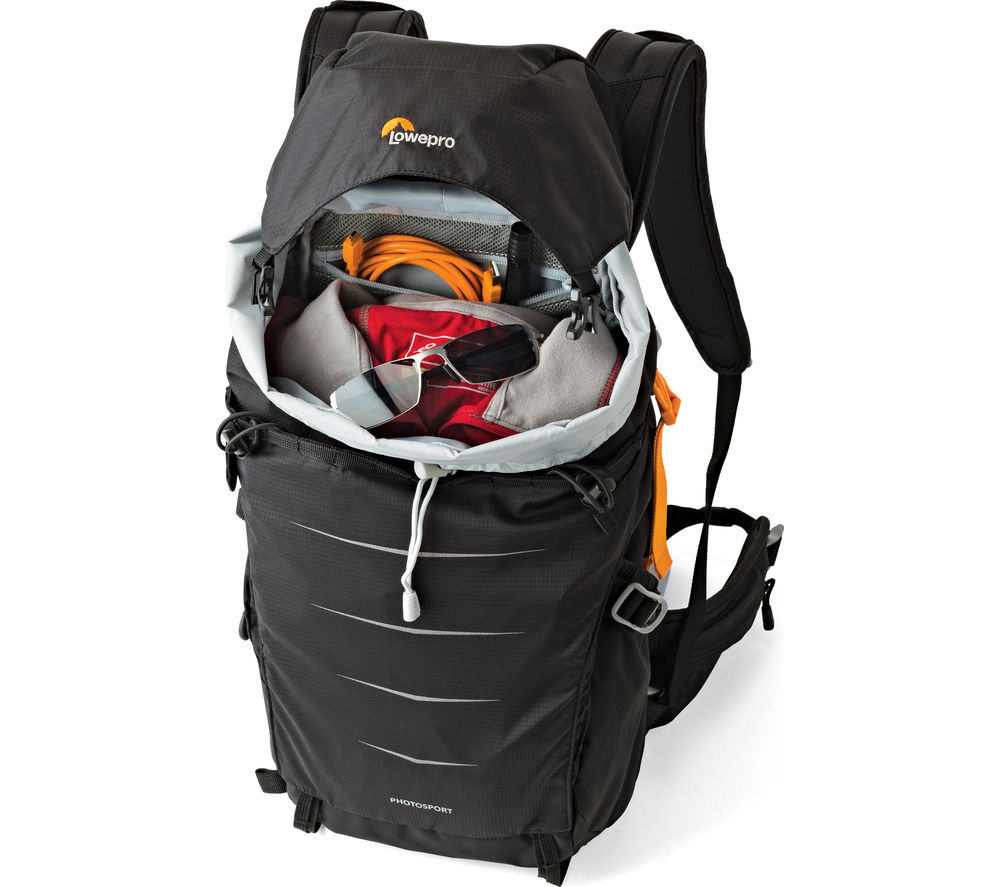 LOWEPRO Photo Sport BP 200 AW DSLR Camera Backpack - Black