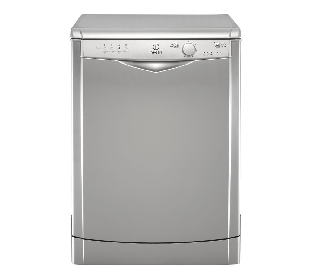 INDESIT DFG15B1S Full-size Dishwasher - Silver