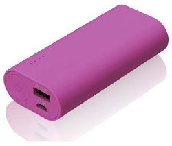 GOJI G6PB6PK16 Portable Power Bank - Pink