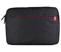 "LOGIK L16CQLS16 15.6"" Laptop Sleeve - Black & Red"