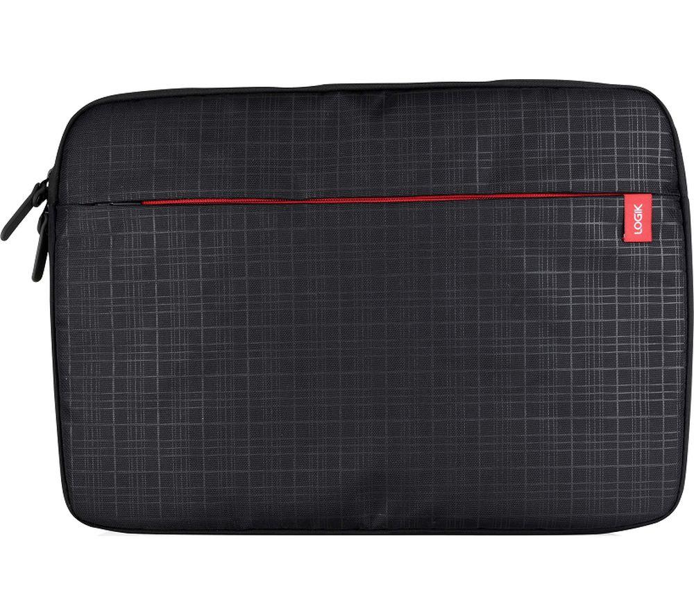 LOGIK L16CQLS16 15.6 inch Laptop Sleeve - Black & Red