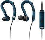 PHILIPS ActionFit SHQ3405BL/00 Headphones - Blue