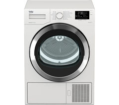 BEKO Select DSX93460W Heat Pump Tumble Dryer - White