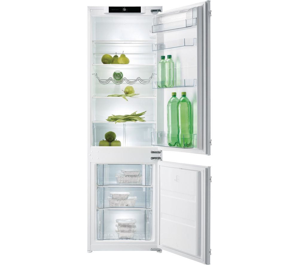 Compare prices for Gorenje NRKI4181CW Integrated Fridge Freezer