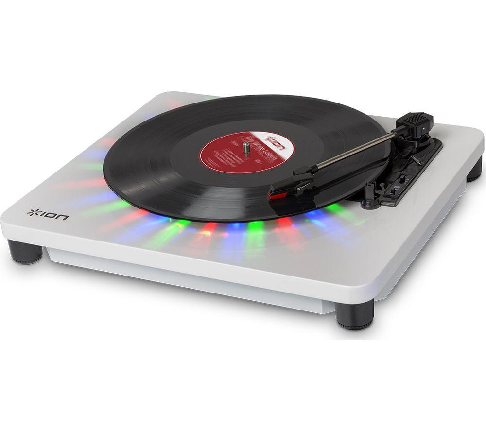 ION Photon LP USB Turntable - White