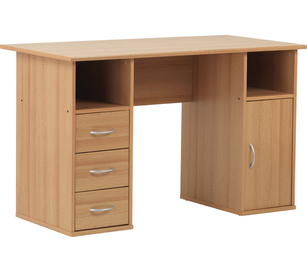 ALPHASON Maryland Desk - Beech