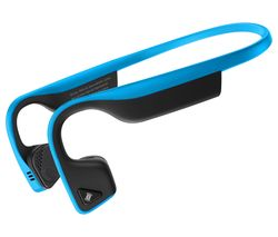 AFTERSHOKZ Trekz Titanium Wireless Bluetooth Headphones - Ocean Blue