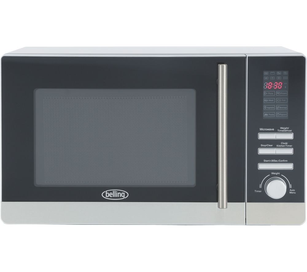 BELLING FM2080S Solo Microwave - Stainless Steel