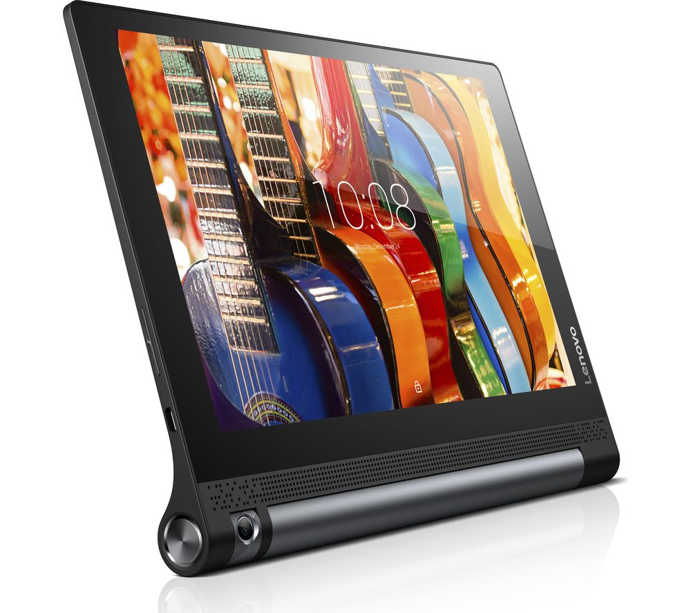"Image of LENOVO Yoga Tab 3 10.1"" Tablet - Black, 32 GB, Black"