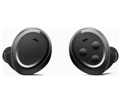 BRAGI The Headphone Wireless Bluetooth Noise-Cancelling Headphones - Black