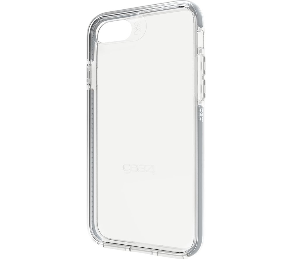 GEAR4 Piccadilly iPhone 7 Case - Clear & Silver