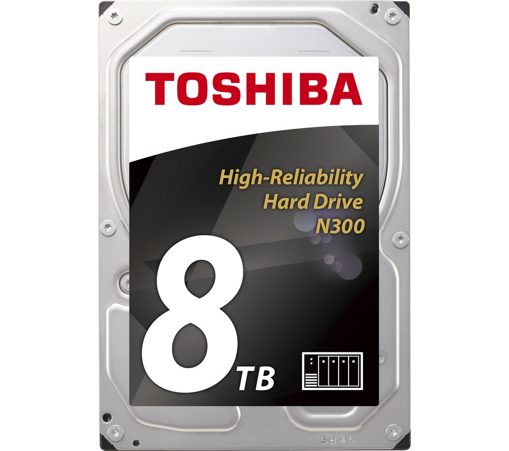 "TOSHIBA N300 3.5"" Internal Hard Drive - 8 TB"