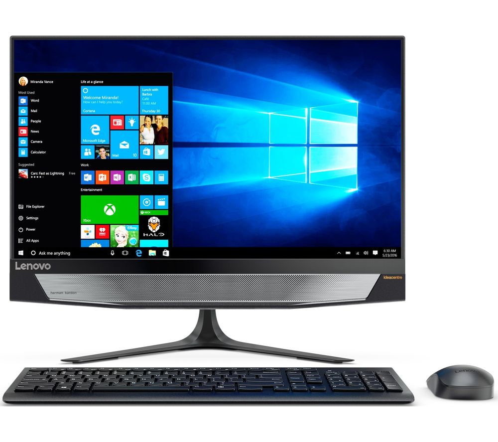 "LENOVO IdeaCentre 720 23.8"" All-in-One PC - Black"