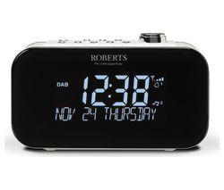 ROBERTS ORTUS3 DAB+/FM Clock Radio - White