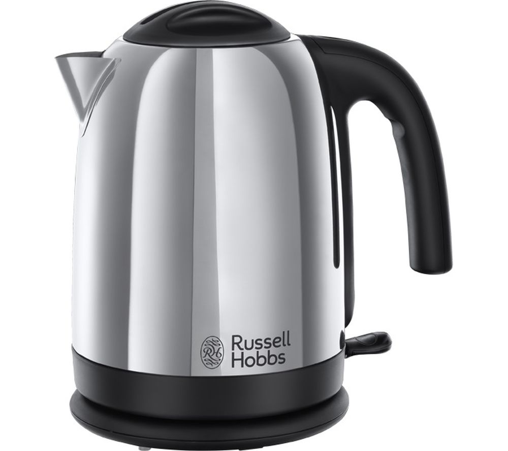 Image of RUSSELL HOBBS Cambridge Polished Steel 20071 Jug Kettle - Polished Stainless Steel, Stainless Steel