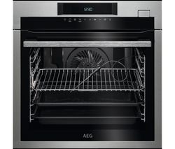 AEG SteamBoost BSE782320M Electric Steam Oven - Stainless Steel
