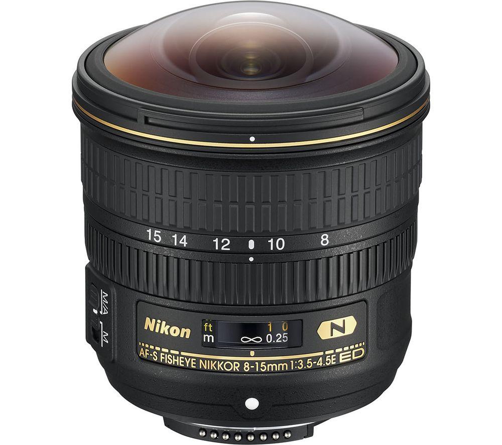 NIKON AF-S NIKKOR 8-15 mm f/3.5-4.5E ED Fisheye Lens