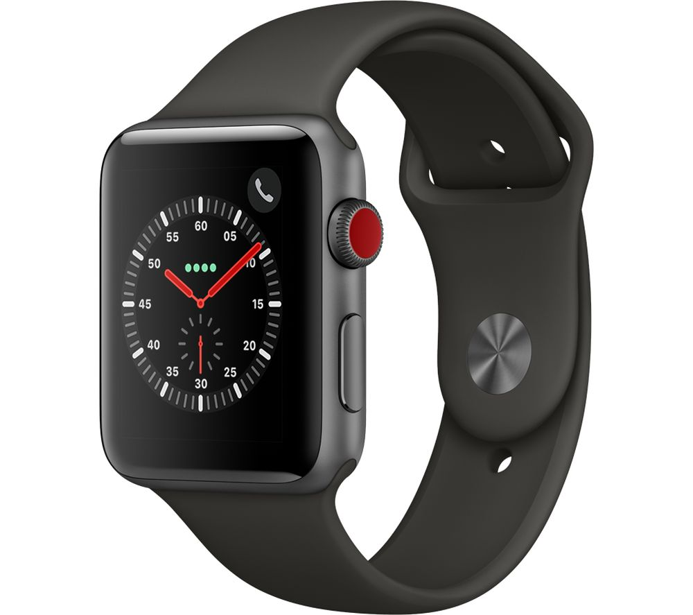 Compare prices with Phone Retailers Comaprison to buy a APPLE Watch Series 3 Cellular 42 mm Grey