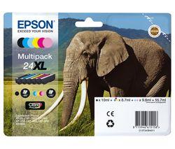 Elephant 24XL 5-colour Ink Cartridges - Multipack