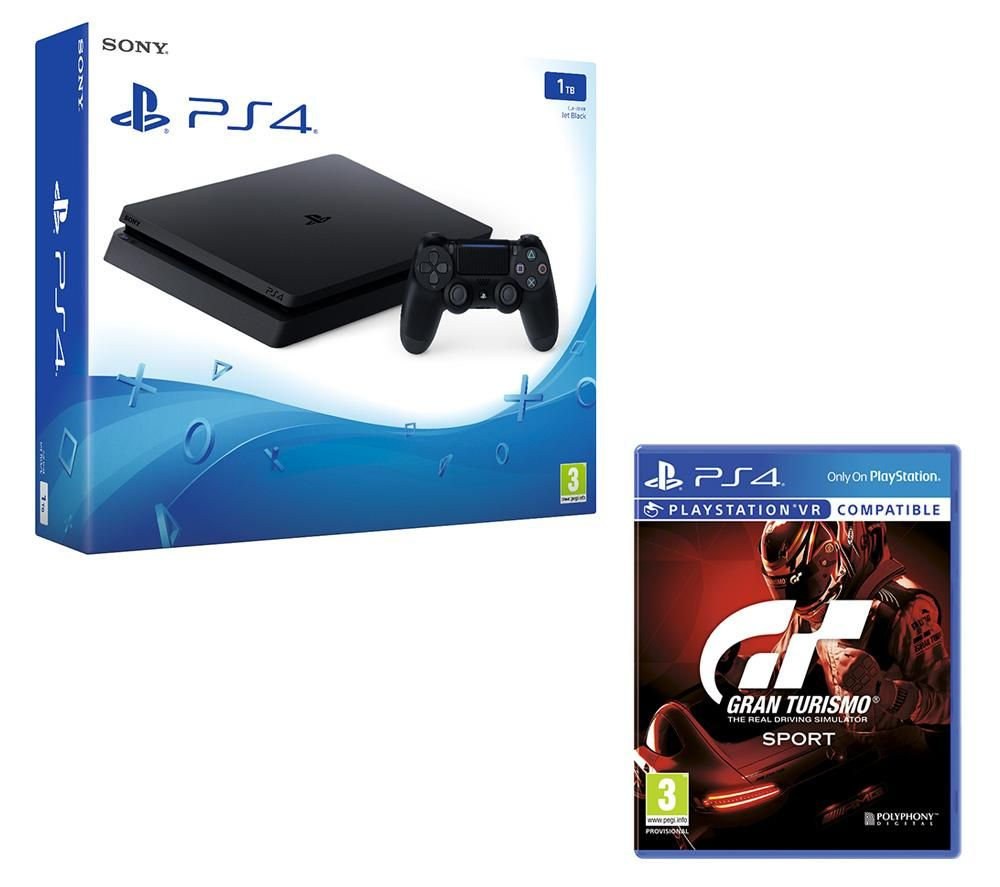 SONY PlayStation 4 Slim - 1 TB & Gran Turismo Sport Bundle