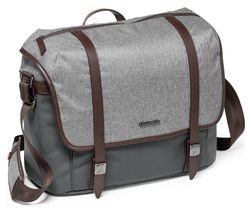 MANFROTTO Windsor Messenger MB-LF-WN-MS DSLR Camera Bag - Grey, Medium