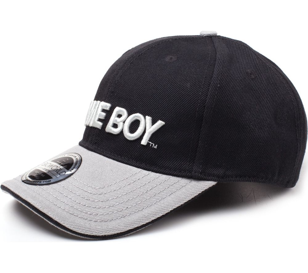 NINTENDO Game Boy Logo Curved Bill Cap
