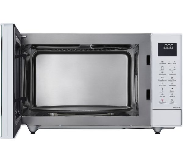 Buy Panasonic Nn Ct55jwbpq Combination Microwave White