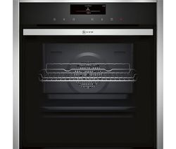NEFF B48FT78N1B Slide and Hide Electric Steam Oven - Stainless Steel