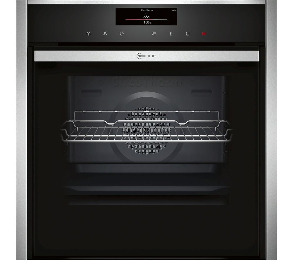 NEFF B48FT78N1B Slide&Hide Electric Steam Oven - Stainless Steel
