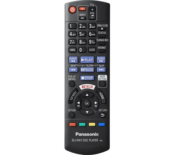 PANASONIC UB820 Smart 4K Ultra HD Blu-ray & DVD Player