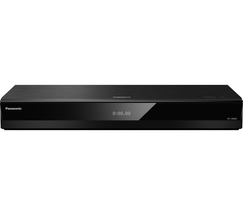 PANASONIC UB820 Smart 4K Ultra HD Blu-ray & DVD Player, Gold