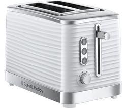 RUSSELL HOBBS Inspire 24370 2-Slice Toaster - White