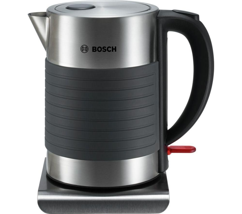 BOSCH TWK7S05GB Jug Kettle - Grey & Black, Grey