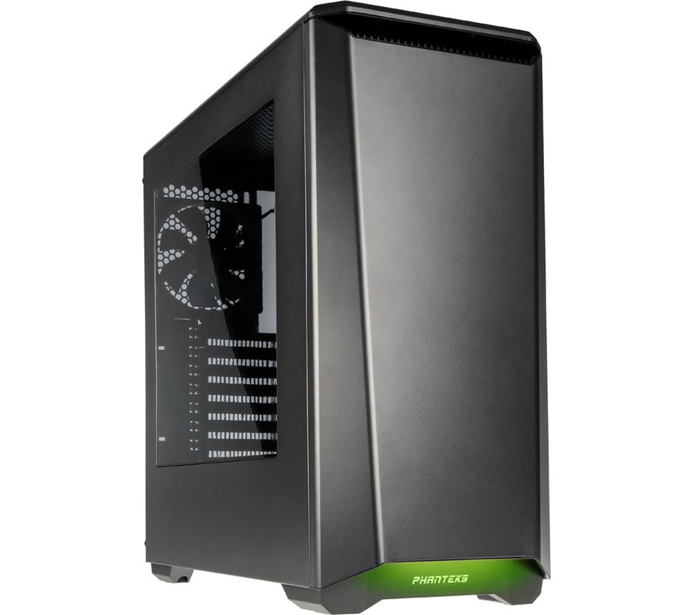 PHANTEKS Eclipse P400 E-ATX Mid-Tower PC Case - Gun Metal