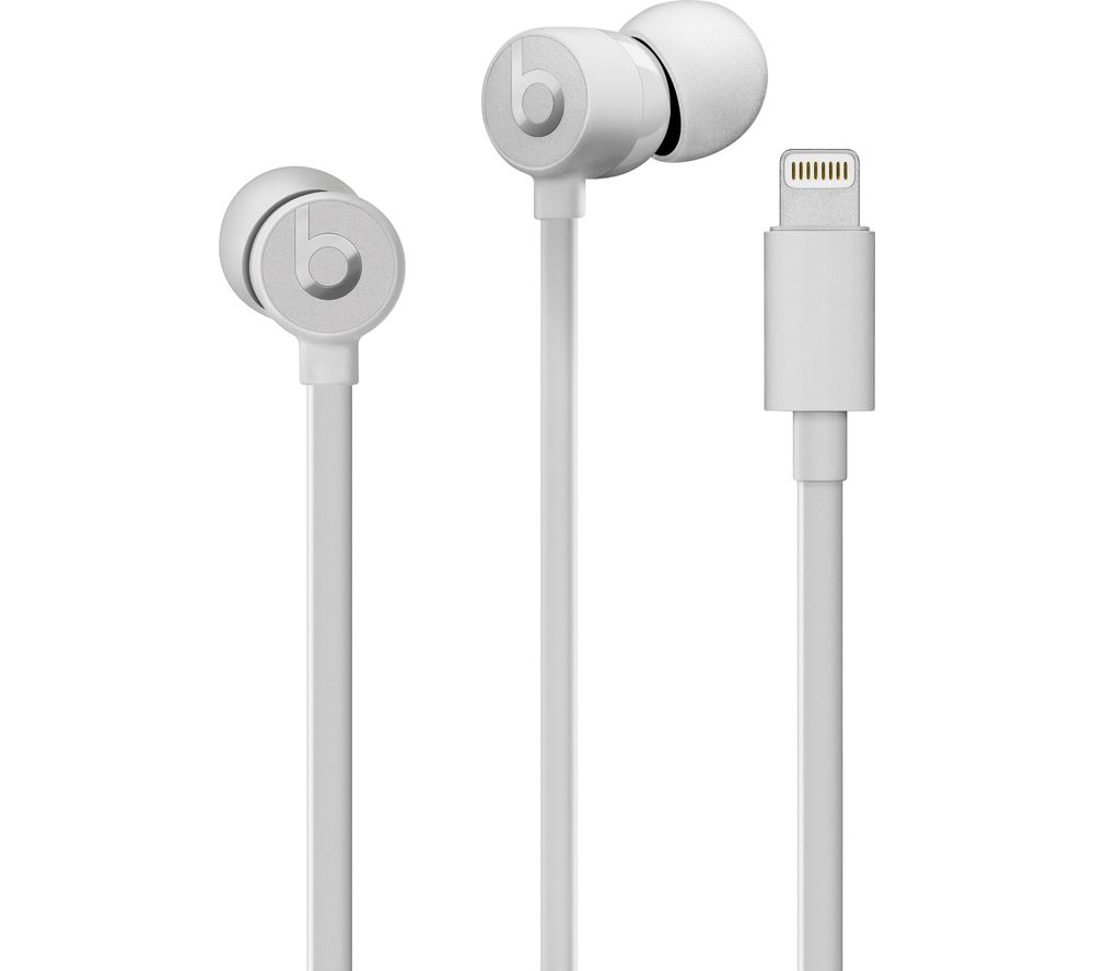 BEATS urBEATS3 Headphones - Satin Silver, Silver