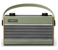 ROBERTS Rambler Portable DAB+/FM Retro Radio - Green