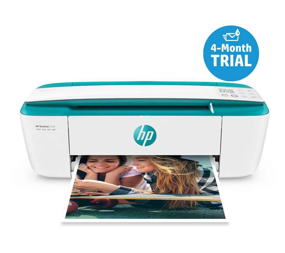HP DeskJet 3762 All-in-One Wireless Inkjet Printer