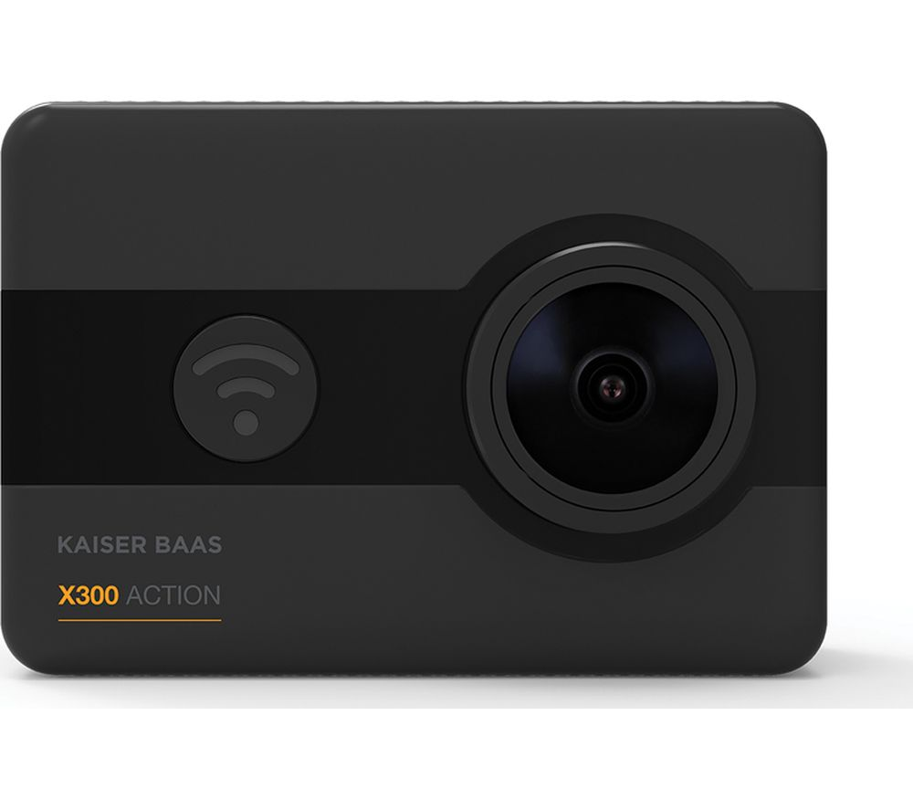 KAISER BAAS X300 Action Camera - Black
