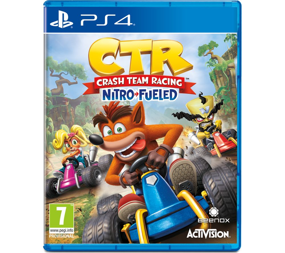 Buy PS4 Crash Team Racing - Nitro-Fuelled | Free Delivery