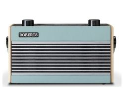 ROBERTS Rambler Portable DAB+/FM Retro Bluetooth Radio - Blue