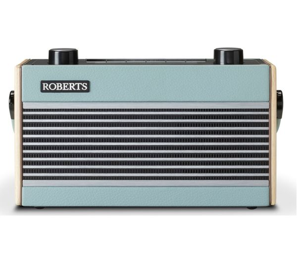 Image of Roberts Rambler BT DAB DAB+ FM Portable Digital Radio with Bluetooth Blue