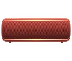 SONY EXTRA BASS SRS-XB22 Portable Bluetooth Speaker - Red