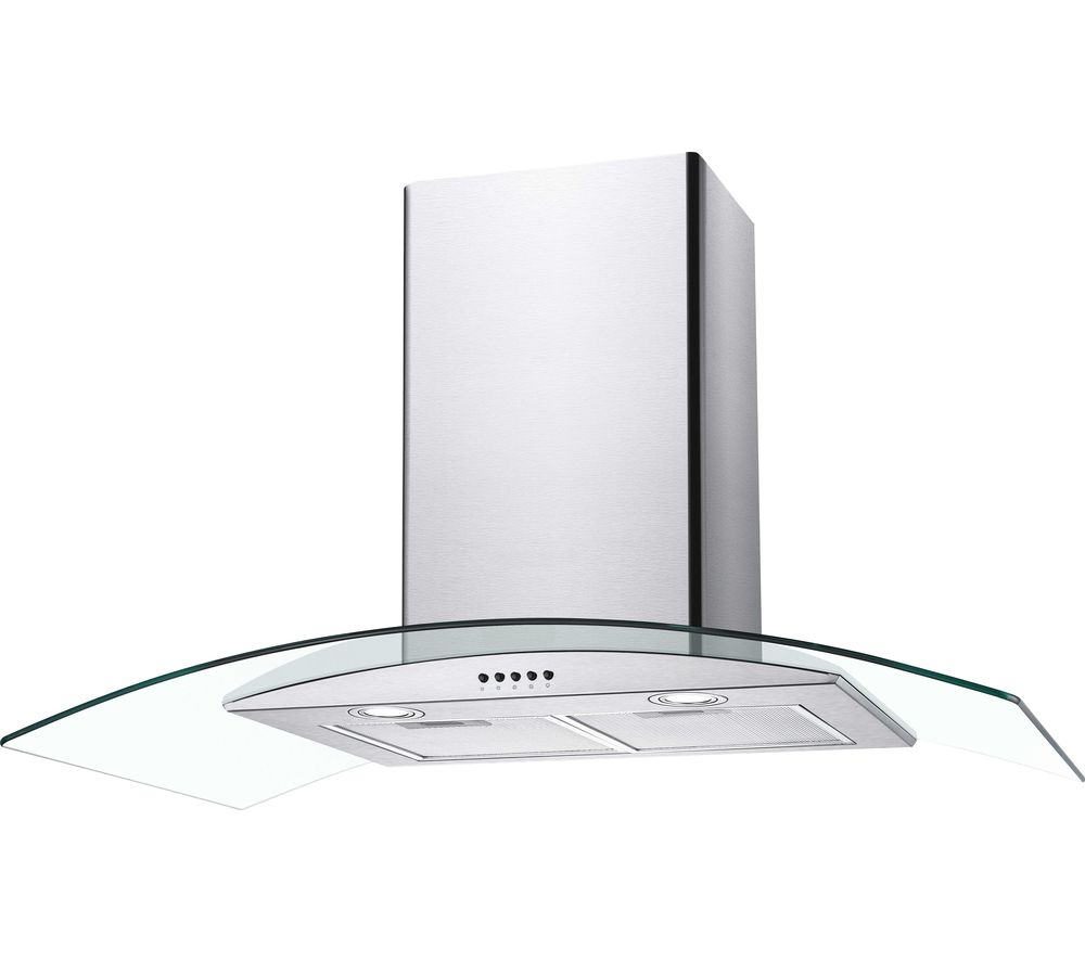 CANDY CGM90NX Chimney Cooker Hood - Stainless Steel