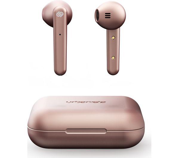 Image of URBANISTA Stockholm Wireless Bluetooth Earphones - Rose Gold