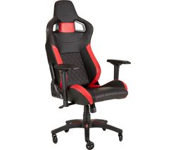 CORSAIR T1 Race Gaming Chair - Black & Red