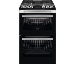 ZANUSSI ZCG43250XA 55 cm Gas Cooker - Stainless Steel