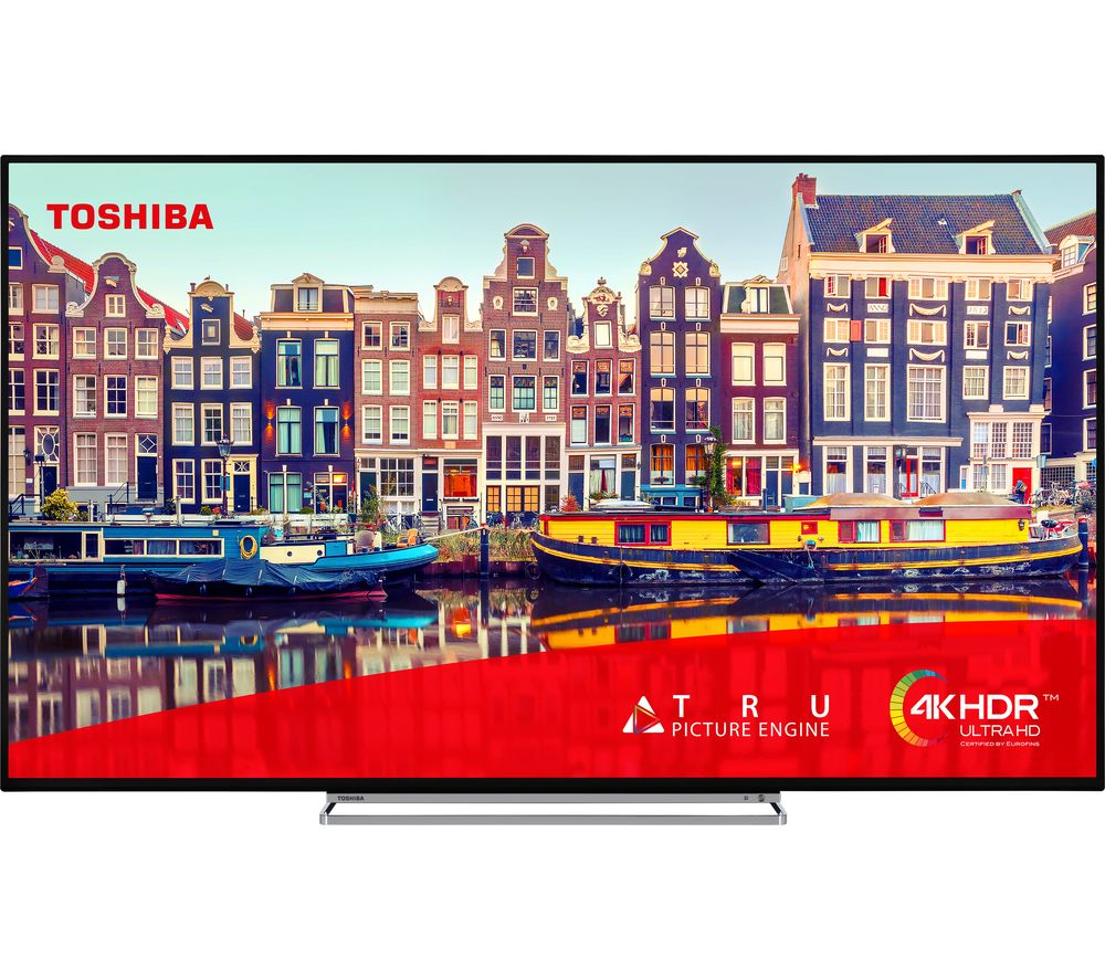 "TOSHIBA 55VL5A63DB 55"" Smart 4K Ultra HD HDR LED TV"