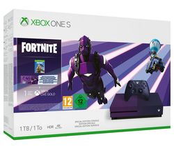 MICROSOFT Special Edition Xbox One S with Fortnite - 1 TB