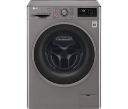 F4J610SS NFC 10 kg 1400 Spin Washing Machine - Graphite